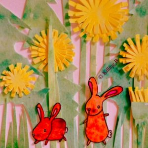 Bunnies and Dandelions