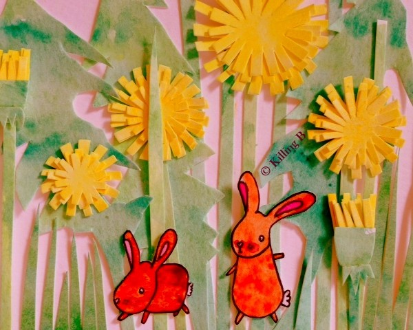 Bunnies and Dandelions