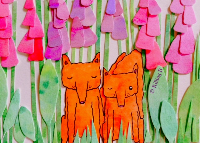 Foxes and Foxgloves