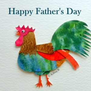 Cockerel - Happy Father's Day