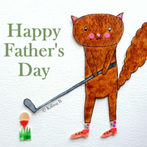 Golfer - Happy Father's Day