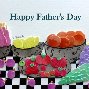 Table of Fruit - Happy Father's Day