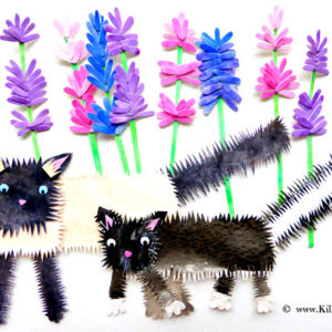 Cats and Lavender