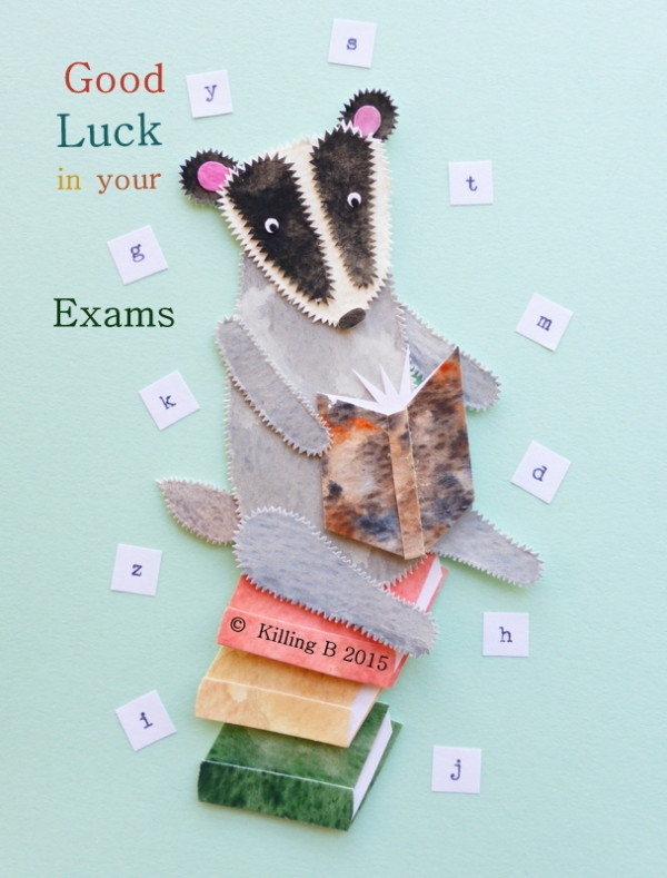 Book Badger 'Exams'