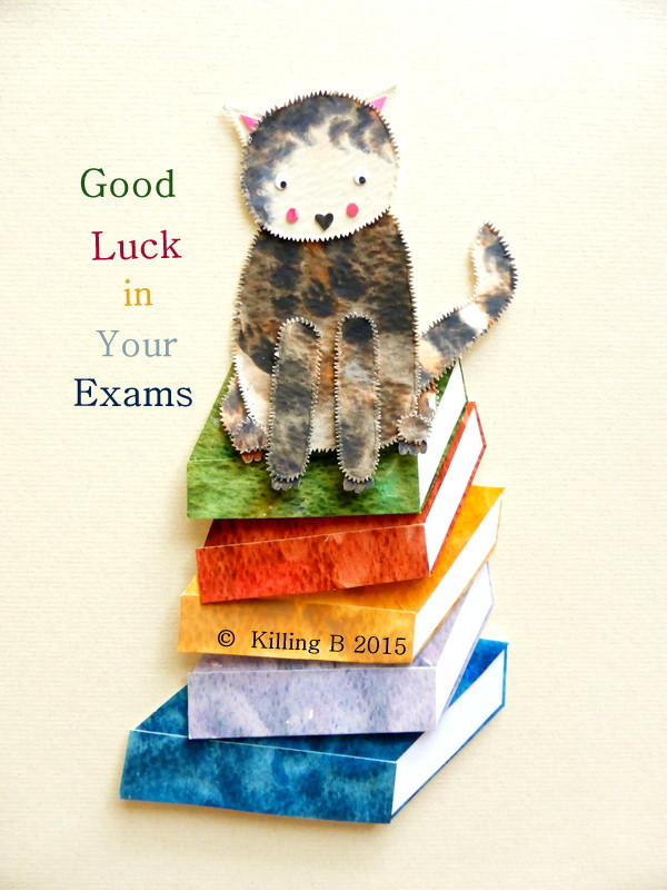 Book Cat 'Exams'