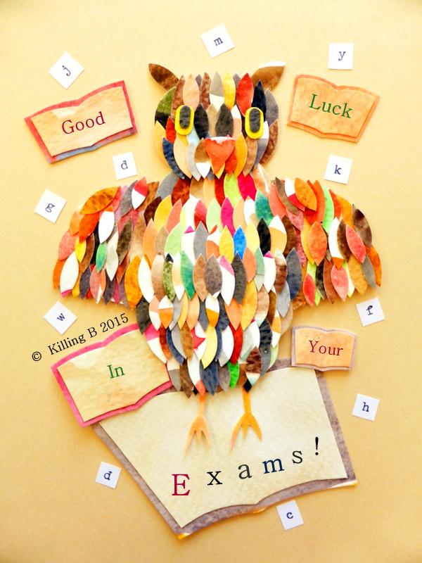 Book Owl 'Exams'