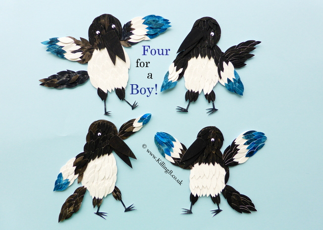 Four for a Boy (Magpies)