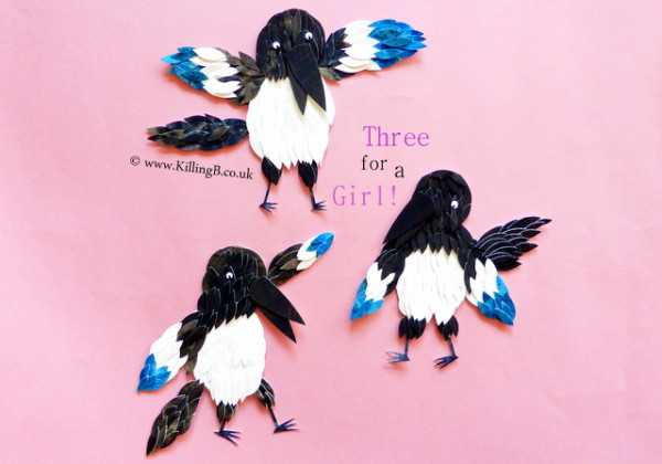 Three for a Girl (Magpies)