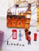 Close up of London Tea Towel
