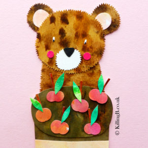 Bear and Cherry Cake