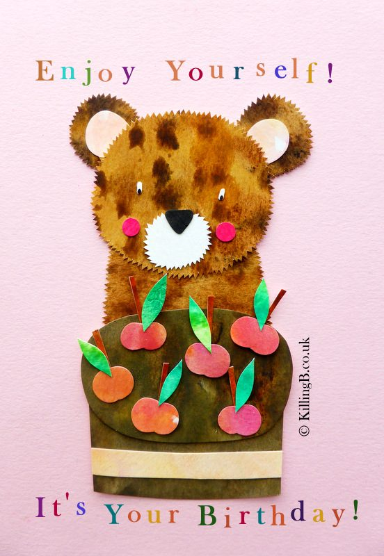 Bear and Cherry Cake