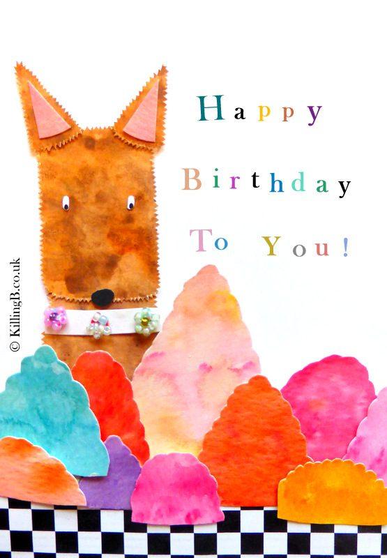 Birthday Jelly Dog