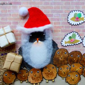 Penguin Christmas & Presents for Penguin Chicks