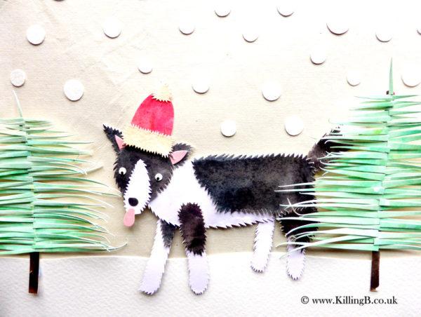 Winter Collie