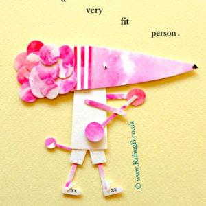 Fit Pink Poodle
