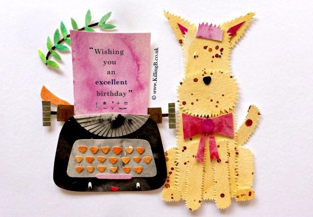 Terrier and Typewriter