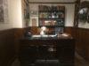 Tobin at Captain Mainwaring's desk