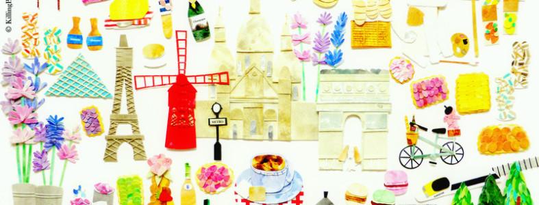 Paris-Tea-Towel