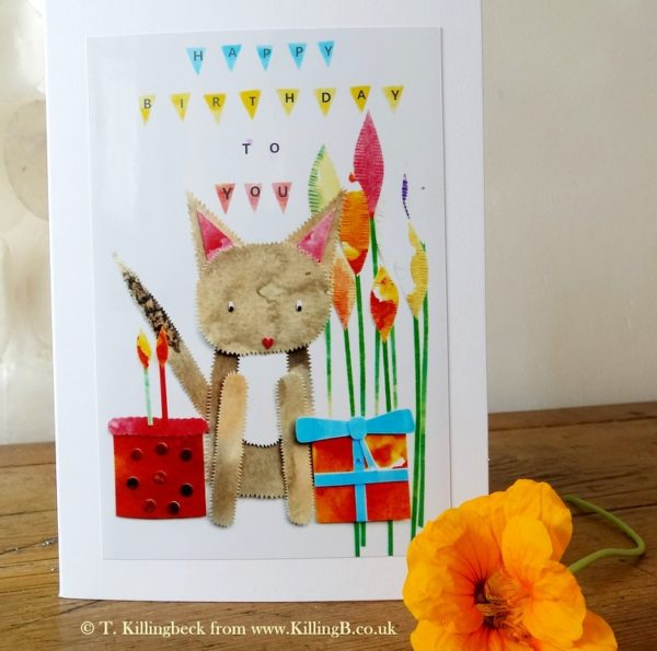 Grey Kitty's Birthday