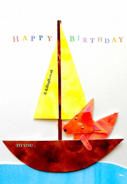 Fox on Birthday Yacht