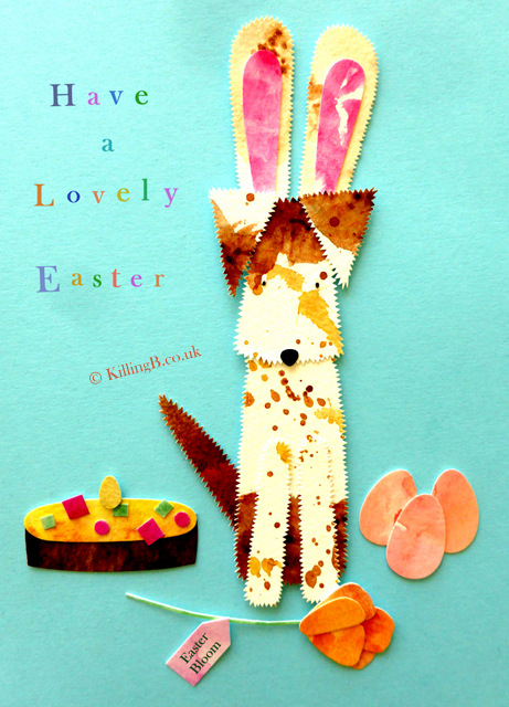 Easter Terrier with Rabbit Ears