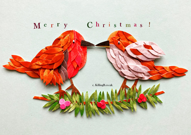 Robin and Wren 'A Christmas Peck'